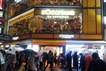 L'Occitane Cafe in Shibuya