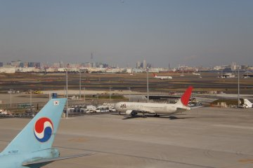 From the Observation Deck at Haneda