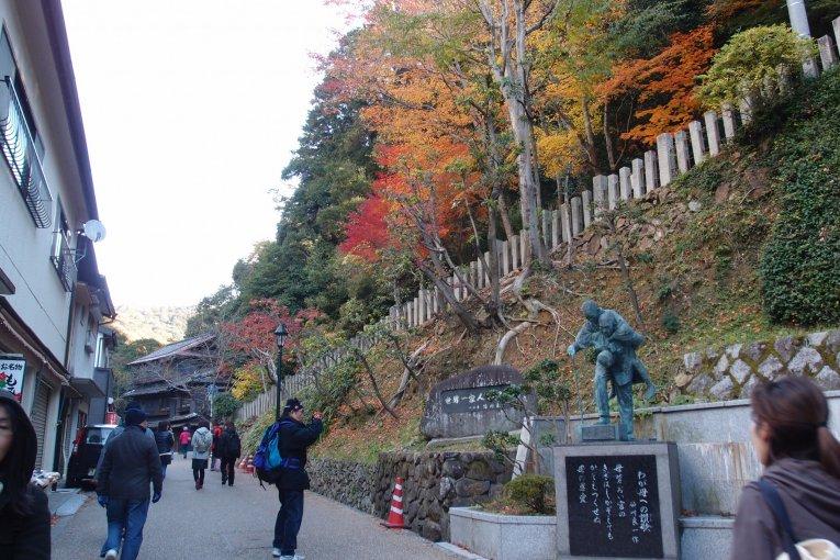 เที่ยวน้ำตกมิโนะไม่ไกลจากโอซาก้า