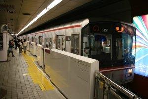 Sakura Dori line subway.