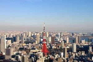 หอคอยทรงเสน่ห์ : หนึ่งในมุมยอดฮิตของชั้นดาดฟ้า Sky Deck ที่ Tokyo City View นั้น ก็คือมุมที่เราสามารถจ้องมองพระเอกอันทรงเสน่ห์อย่างหอคอยโตเกียวที่ตระหง่านอยู่ท่ามกลางตึกระฟ้าและอาคารบ้านเรือนของกรุงโตเกียวได้อย่างโดดเด่นงดงาม