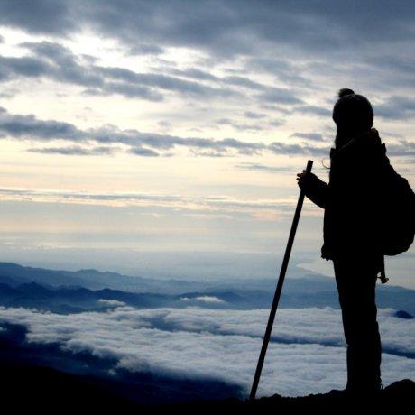 ปีนภูเขาไฟฟูจิ ทาง Kawaguchiko