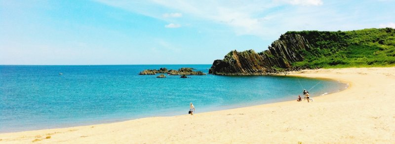 Tango Peninsula is famous for its pristine and tranquil beaches along Wakasa Bay