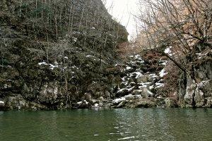 เกบิเคย์ในช่วงปลายฤดูหนาวหิมะเริ่มละลายและต้นไม้พร้อมจะแตกใบรับใบไม้ผลิ
