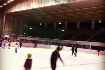 Hiroshima's Big Wave Ice-Rink