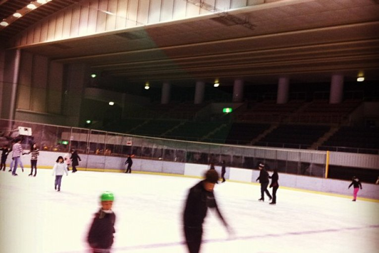 Hiroshima's Big Wave Ice-Rink