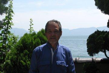Mr. Kataoka local in Nishiwaki beach