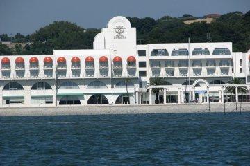 Seaside Shot onto Hotel Limani