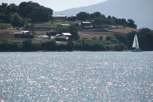 View of Ushimado Harbor