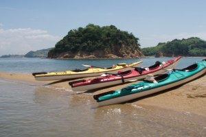 Kayaking in Ushimado Town