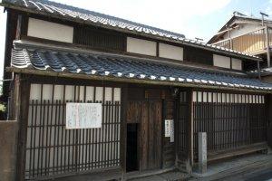 Basho's residence in Iga Ueno.