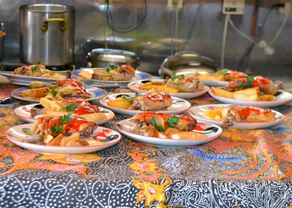 The main dish on a recent visit with a large group - everyone was incredibly impressed with the quality and taste of everything we ate