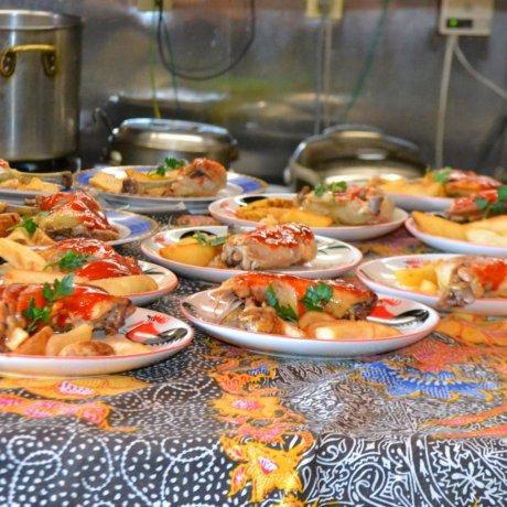 大谷町のレストラン「象の家」
