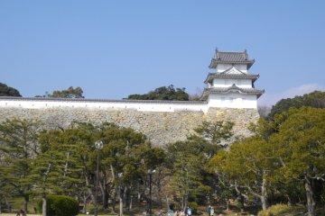 <p>Yagura (tower) of the castle</p>