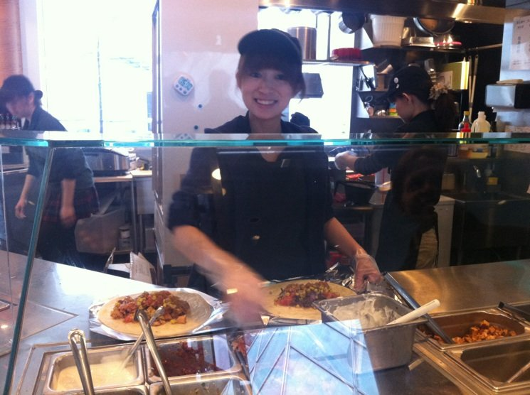 Hiromi has an infectious smile
