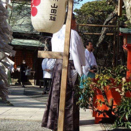 Kamakura's Egara-tenjin Shrine