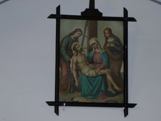 頭ケ島天主堂の壁面を飾る絵: 1