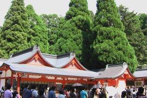 鹿児島の霧島神社。龍馬の新婚旅行先だ!