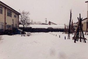 หิมะที่ที่ปกคลุมทุกอย่างในเมือง แม้กระทั่งความเงียบ