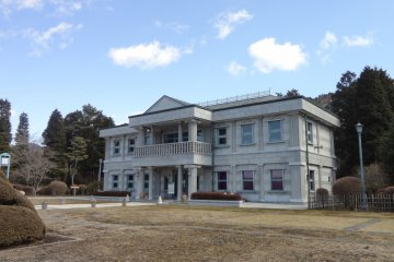 The villa's main house.