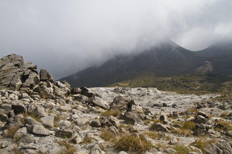Hiking From Mt. Io to Mt. Karakuni
