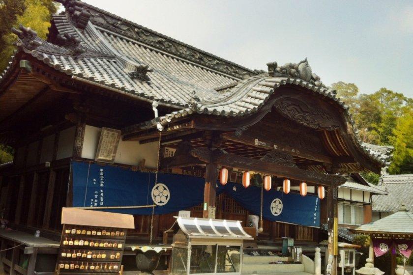 Enmei-ji, No. 54 of the Shikoku 88 temple pilgrimage