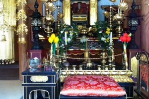 Inside the Daishi-do