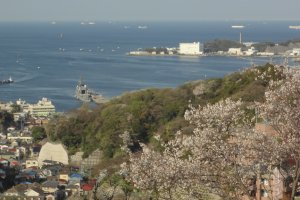 Adams loved to climb up to a hilltop in this area that commanded a splendid view of Edo (Tokyo) Bay, including modern day Yokohama Bay.