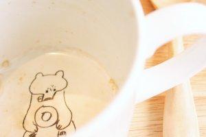 อย่าลืมยิ้มแฉ่งก่อนกลับบ้าน ... เพราะใต้ก้นแก้วกาแฟนั้นกำลังีเพื่อนน่ารักๆ กำลังรอทักทายและขอบคุณอยู่ ;)