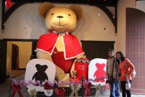 น้องหมีตัวโต ใน Teddy Bear Kingdom