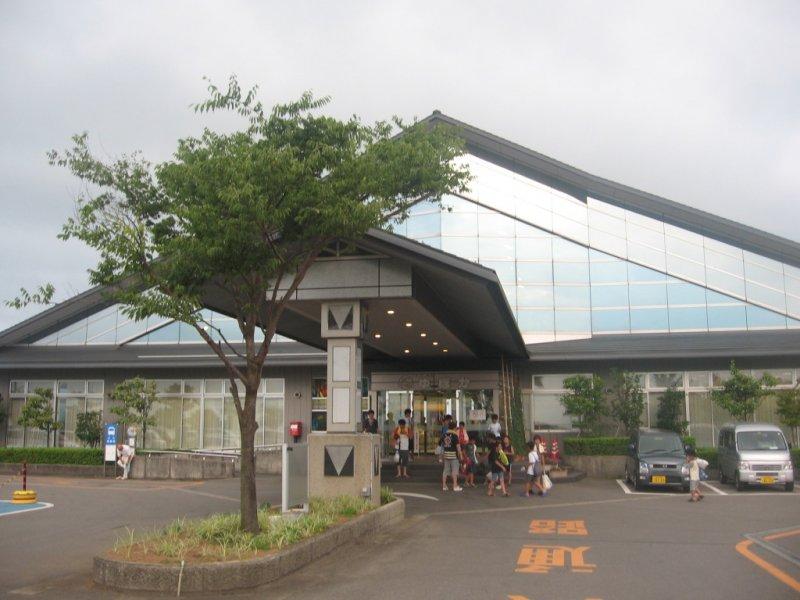 The entrance of Yupoka - gateway to onsen paradise!