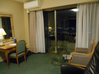 Each room has a veranda with great view of Sendai City