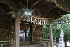 Constructed to traditional Shinto specifications