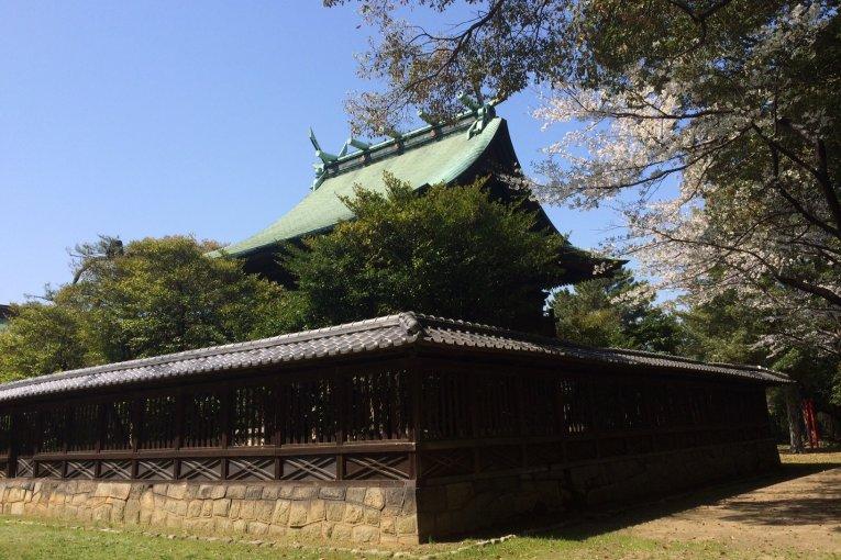 ปราสาทคุรุเมะ ในจังหวัดฟุกุโอะกะ