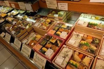 ขุมทรัพย์อาหารกลางวันใกล้ตลาดนิชิกิ