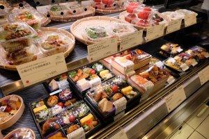ชุดอาหารกลางวันอยู่ที่ 500-1300 เยน