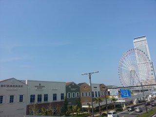 บรรยากาศของ Rinku Premium Outlet