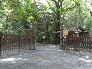 ทางเข้าสวนเมจิ จินกุ