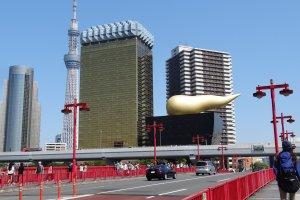 อาคารสุดดัง Asahi Beer