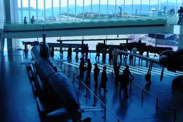 Yamato Maritime Museum in Kure