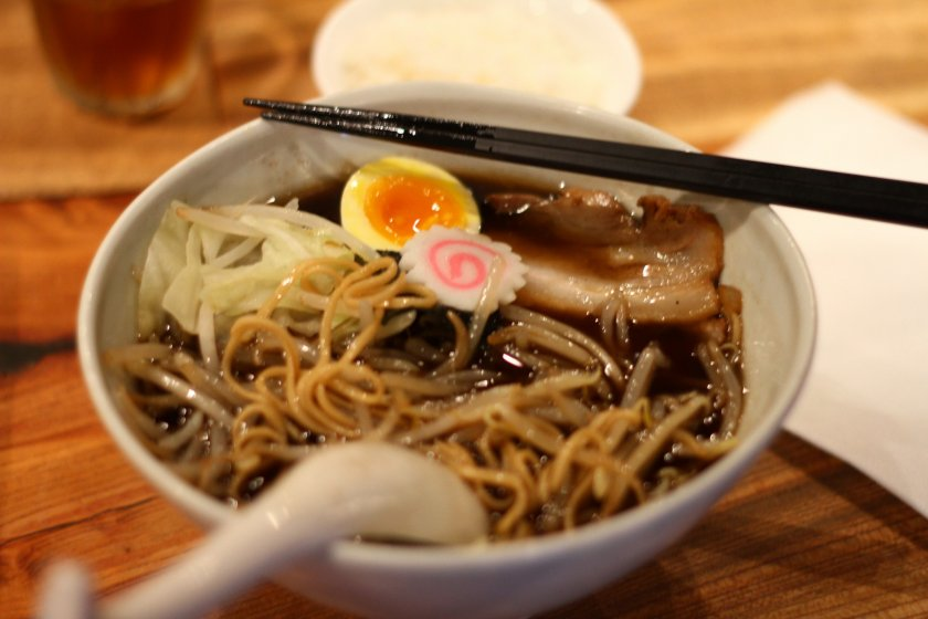 A steaming bowl of Kogashii Ramen coming right up!