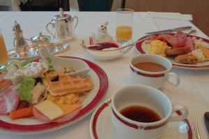 Morning buffet.