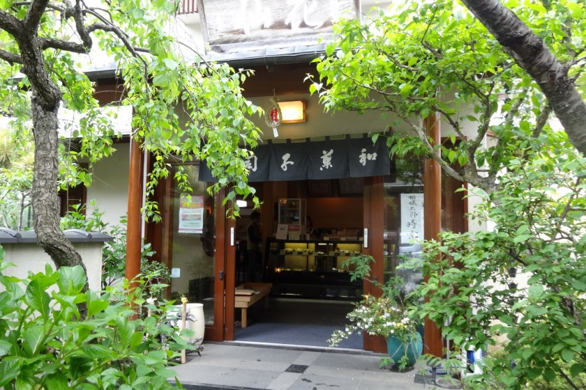 Casen, an authentic Japanese confectionery in Kita Kamakura