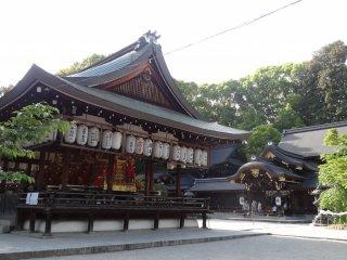 ที่เก็บรถลากสำหรับงานเทศกาลอิมะมิยะ มัตซึตริ