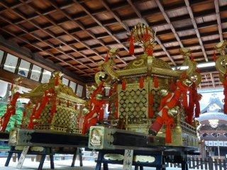 รถลากสำหรับงานเทศกาลอิมะมิยะ มัตซึตริ