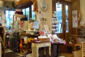 The store is bright and welcoming, with a decent number of seats.