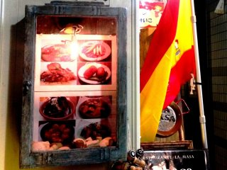 Spanish restaurants give an international flair to this chic shopping and eating street.