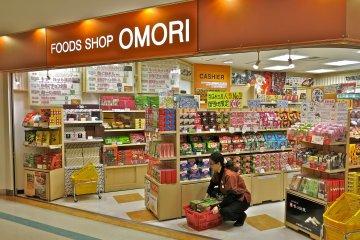 大森商店提供各式各樣的日本零食及人氣的KitKat巧克力