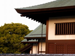 Roof of Tokushima Castle Museum