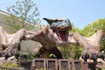 <p>Hear the Tigrex roar!</p>